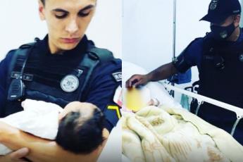 Bebê abandonada Taboão da Serra