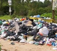 Acumulo de Lixo em Mairinque