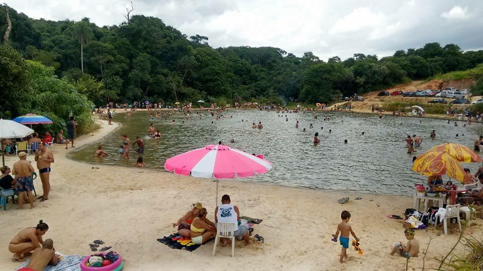 Praia artificial Itapevi