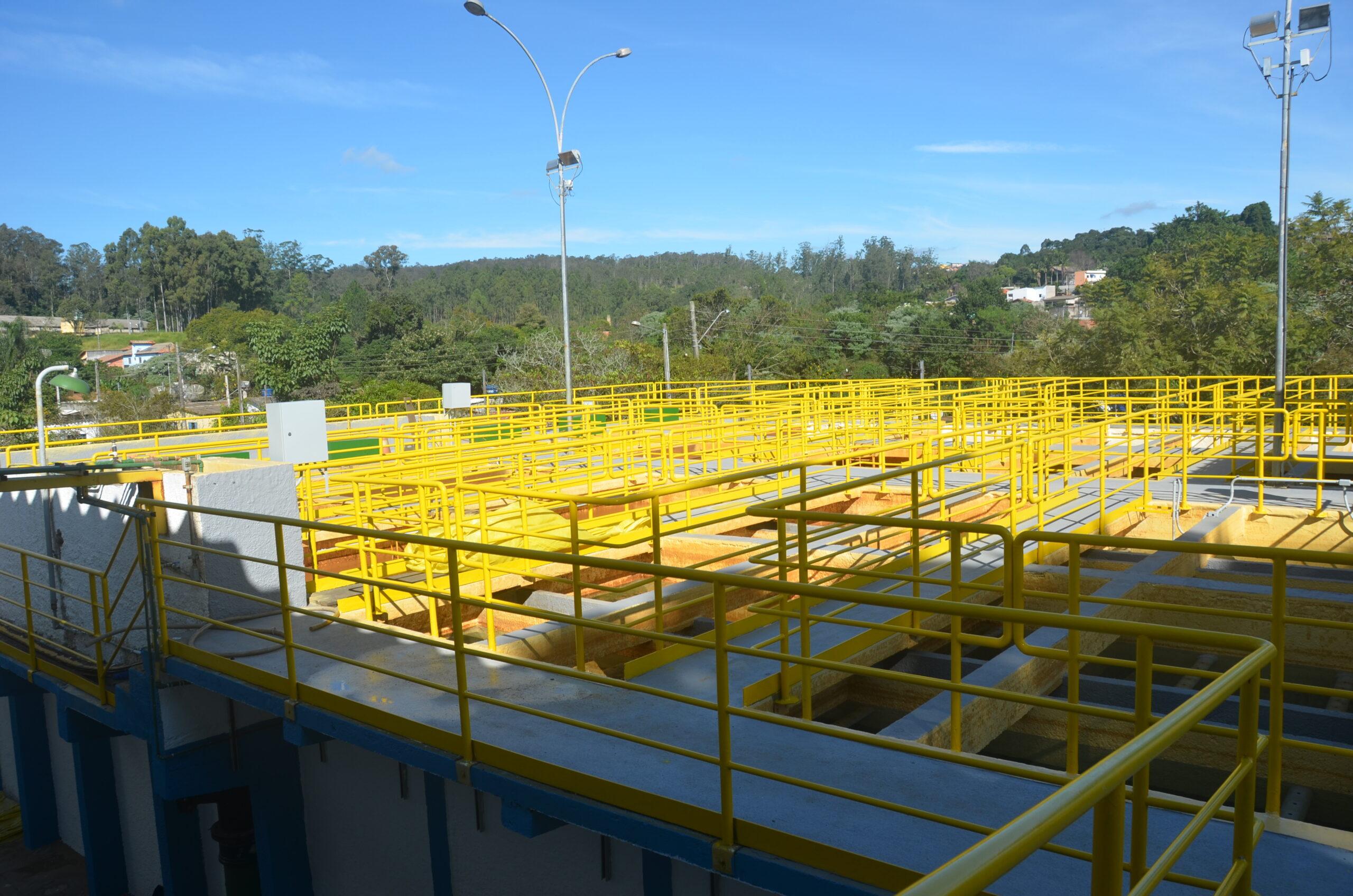 Estação de tratamento de água Mairinque